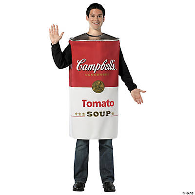 Campbell's Tomato Soup Adult Men's Costume