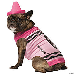 Crayola Pink Pet Costume