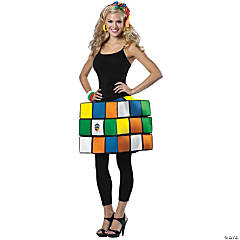Rubiks Cube Adult Women's Costume