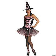 Witchy La Bouf Pink Adult Women's Costume