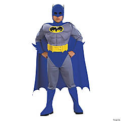 Boy's Deluxe Muscle Batman Costume