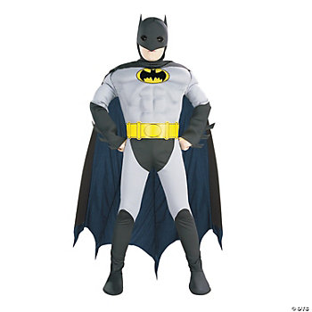 Batman Muscle Chest Boy's Costume