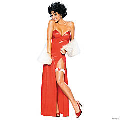 Betty Boop Deluxe Starlet Adult Women's Costume