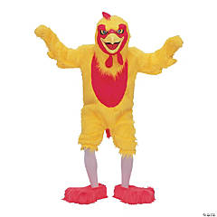 Chicken Mascot Complete Adult Costume