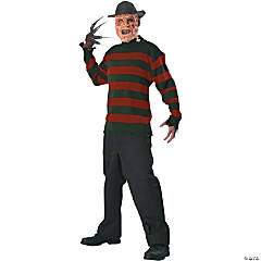Freddy Sweater Adult Men's Costume