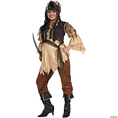 Maternity Pirate Queen Adult Women's Costume