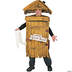Outhouse Adult Men's Costume