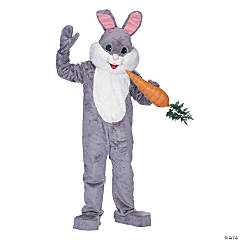 Premium Rabbit Grey Adult Costume