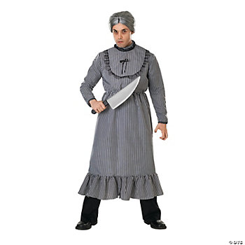 Psycho Bates Grandma Adult Men's Costume