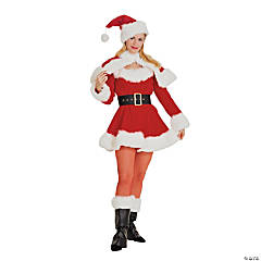 Sexy Miss Santa Adult Women's Costume