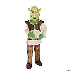 Deluxe Boy's Shrek Costume