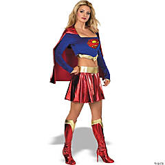 Adult Woman's Sexy Supergirl Costume