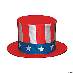 Uncle Sam Collapsible Child's Hat