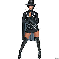 V For Vendetta Sexy Adult Women's Costume
