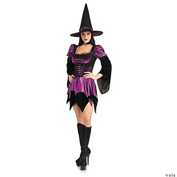 Witch Sexy Plus Size Adult Women's Costume