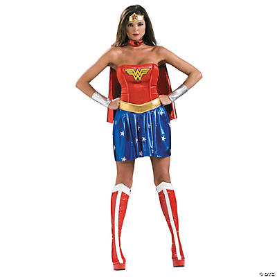Large Wonder Woman Costume for Women