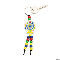 """Over The Top"" Beaded Key Chain Craft Kit"