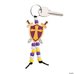 """Mighty Kingdom"" Beaded Key Chain Craft Kit"