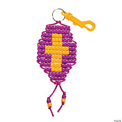 """Mighty Kingdom"" Pony Bead Key Chain Craft Kit"