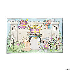 "Color Your Own ""Mighty Kingdom"" Classroom Mural"