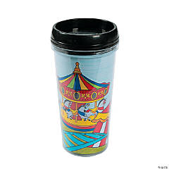 "Color Your Own ""Over The Top"" Travel Mugs"
