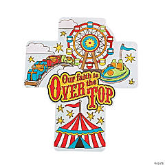 "Color Your Own ""Over The Top"" Cross Cutouts"