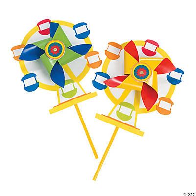 Ferris Wheel Pinwheel Craft Kit