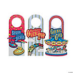 "Color Your Own ""Over The Top"" Door Hangers"