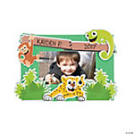 """Jungle Journey"" Photo Frame Magnet Craft Kit"