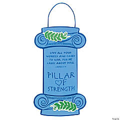"""Pillar Of Strength"" Sign Craft Kit"
