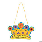 """God Is The King Of All"" Crown Craft Kit"