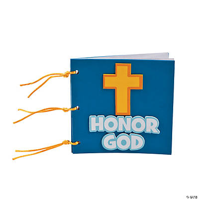 """Honor God"" Book Craft Kit"