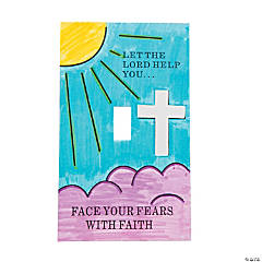 """Face Your Fears"" Light Switch Cover Craft Kit"