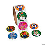 """I Love VBS"" Roll Stickers"