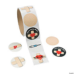 Bandage Roll of Stickers