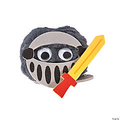 Pom-Pom Knight Craft Kit