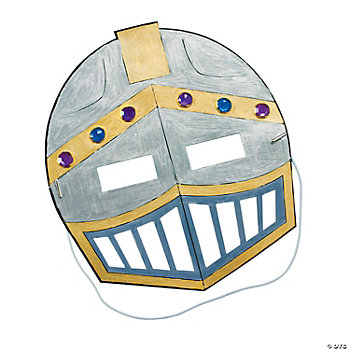 Color Your Own Knight's Mask