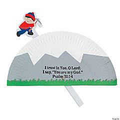 Paper Plate Mountain Climber Pop-Up Craft Kit