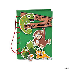 """Jungle Journey"" Prayer Journal Craft Kit"