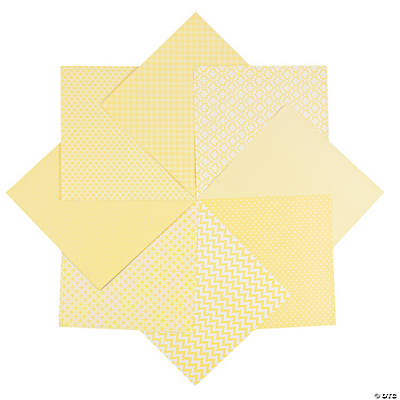 Monochromatic Yellow Paper Pack