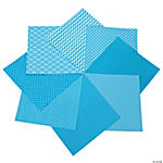Turquoise Monochromatic Paper Pack - 12