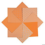 Monochromatic Orange Paper Pack