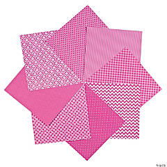 Hot Pink Monochromatic Paper Pack