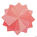 Red Monochromatic Paper Packs