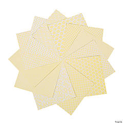 Yellow Monochromatic Paper Pack