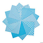 Turquoise Monochromatic Paper Pack - 6