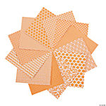 Orange Monochromatic Paper Pack - 6