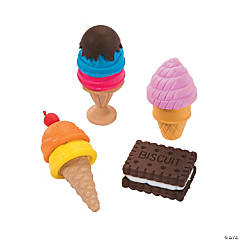 Summer Treats Erasers