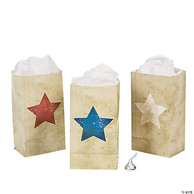 Mini Vintage Patriotic Treat Bags