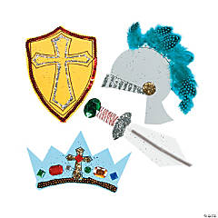 """Mighty Kingdom"" Jumbo Foam Shapes"